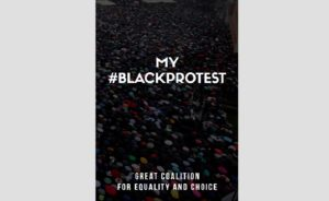 """""""MY #BLACKPROTEST"""" cover"""