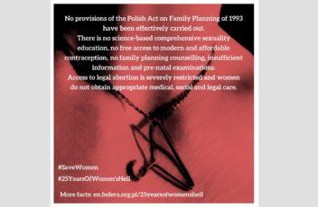 #25YearsOfWomen'sHell
