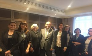 Commissioner's meeting with representatives of the Polish women's organizations, incl. Federation for Women and Family Planning