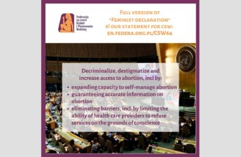 CSW64_feminist declaration_statement